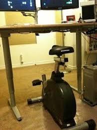 Exercise Equipment Desk Fitdesk Fdx 2 0 Desk Exercise Bike With Massage Bar White Http
