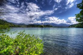 Slovenia Lake Slovenia Lake Bled Nature Sky Clouds