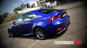 lexus is300h cvt 2013 lexus is 300h f sport 0 100km h acceleration youtube