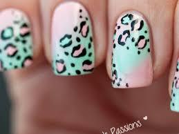 27 animal print gel nail designs nails in pics