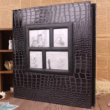 large wedding photo albums personalized large leather photo album scrapbook wedding