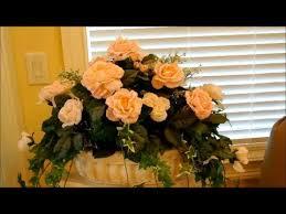 How To Make Flower Arra How To Make Silk Flower Arrangements Part 1 Flower Decoration