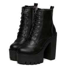 s boots ankle 25 chunky boots ideas on black boots platform
