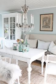 colour scheme greyish blue and putty and white home decor