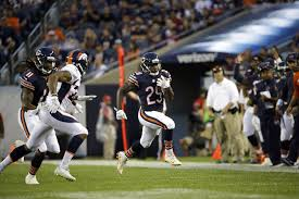 a t s tarik cohen impressive in debut with chicago bears pro
