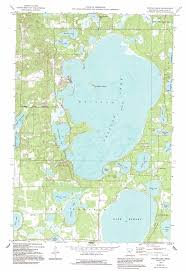 Green Lake Wisconsin Map by Pelican Lake Topographic Map Mn Usgs Topo Quad 46094e2