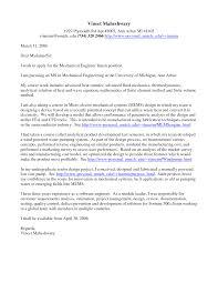 sample cover letter for engineering job cover letter template 20