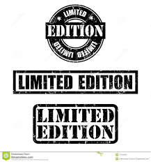 limited edition collection of limited edition st stock vector image 47160463