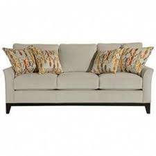 exposed wood frame sofa broyhill perspectives sofa foter