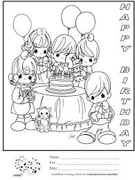 free coloring pages happy birthday dad printable print elmo
