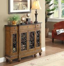 vidi accent hallway console sofa table chest metal decor door