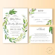 wedding invitations greenery 34 best wedding invitation suites and sets images on