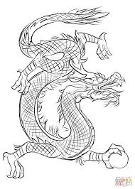 asian dragon coloring free printable coloring pages