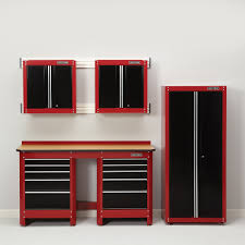 sears garage storage cabinets decorating best garage storage cabinets sears with red and black