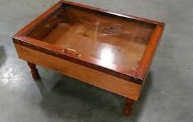 Coffee Table Box On Sale Wood Shadow Box Coffee Table Display