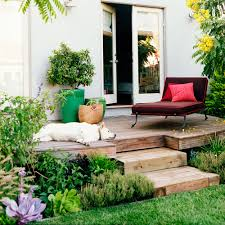 how to create outdoor living spaces sunset