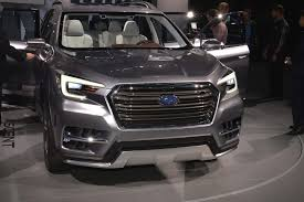 subaru suv concept interior 2019 subaru ascent price engine specs news interior review