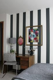 Striped Bedroom Wall by Striped Bedroom Walls Tjihome