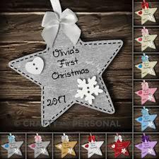 Personalised Baby S First Christmas Tree Bauble by Personalised Crown Bauble Keepsake Baby U0027s First Christmas Tree