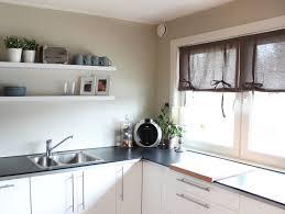 rideaux de cuisine design cuisine design rideaux cuisine enrouleurs marron nouettes armoires