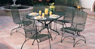 Iron Outdoor Patio Furniture Likeable Cast Iron Outdoor Furniture Landscaping Gardening Ideas