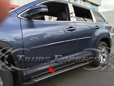 2013 toyota highlander limited accessories toyota highlander side molding ebay