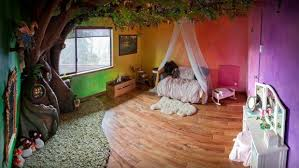 fairytale bedroom dad builds a disney style fairy tale tree for his kid s bedroom