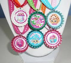 bottle cap necklaces ideas shopkins 3d 6 metallic shiny bottle cap necklace birthday party