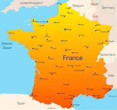 Paris France On A Map by Euro 2016 Travel Guide How Can I Get To Ireland U0027s Games In France