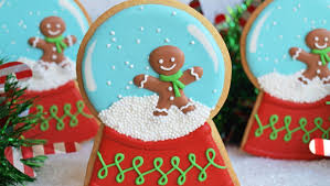 Decoration Round Christmas by How To Decorate A Snow Globe Cookie Collaboration With Confetti