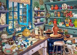 my no 3 the pottery shed 1000 jigsaw puzzle all