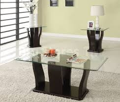 Glass End Tables For Living Room Glass Top Coffee End Table Sets Best Gallery Of Tables Furniture