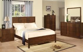 Traditional Dark Wood  Pieces Queen Poster Bedroom Set Dark Wood - Dark wood bedroom furniture sets