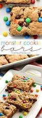one bowl big batch monster cookie bars