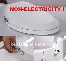 Heated Toilet Seat Bidet Smart Washer Body Cleaning Toilet Seat Washing Toilet Bidet No
