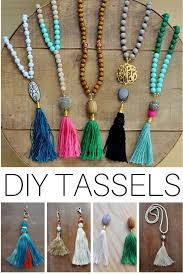 tassel necklace beads images Diy beaded tassel necklaces techniques and tutorial pinterest jpg