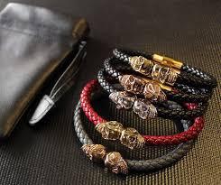 luxury man bracelet images Northskull nappa leather bracelets my new obsession miss dk jpg