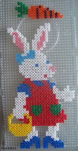 hama bead letter templates 84 best hama images on pinterest hama beads fuse beads and easter bunny hama perler beads by les loisirs de pat