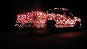 where to buy cheap christmas lights the streets get merrier with the christmas truck geek com