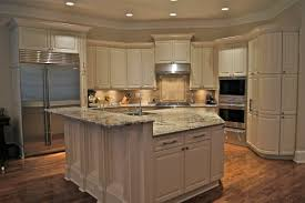 stunning these cabinets were white laminate we added new crown