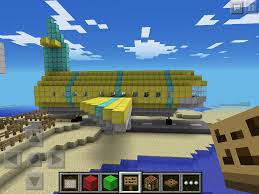 mcpe plane and tiny airport mcpe show your creation minecraft