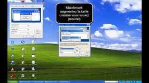 agrandir icones bureau tuto comment agrandir les icones sous windows xp