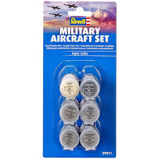 revell military aircraft acrylic paint set 6 pack new ebay