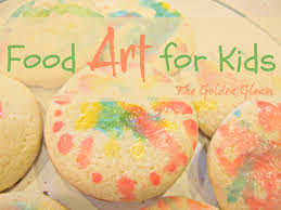 how to paint cookies with kids finding the golden gleam
