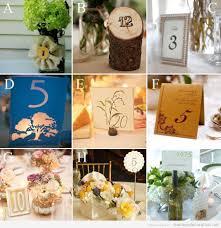 numero table mariage idees déco mariage numéro de table original farrah david