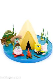 sponge bob cakes spongebob cake cing episode sea attack baking obsession