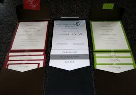 pocket invitations wedding invitation pocket invitations