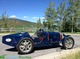 vintage bugatti transported one of the classiest racecars ever produced 1931 bugatti
