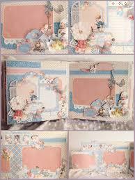 baby scrapbook album graphic 45 precious memories baby year album 2015 sep