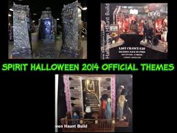 spirit halloween spirit halloween 2014 official themes spoilers youtube